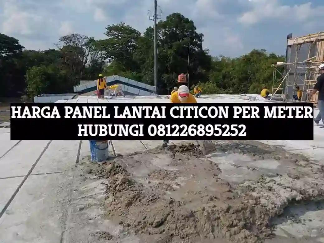 harga panel lantai citicon per meter